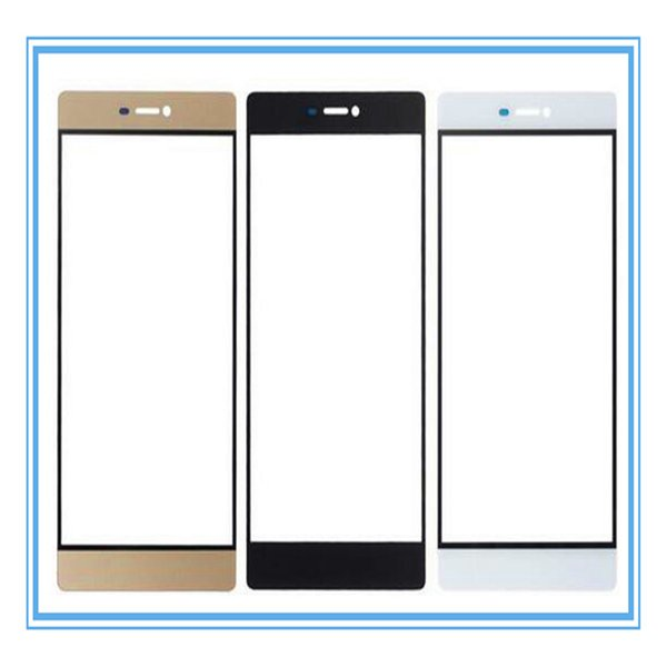 Black White Gold New Replacement Parts For Huawei Honor 6 Plus Front Glass Touch Screen Outer Panel Top Lens Cover Whole Sale Free Shipping