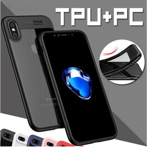 Premium Full Protective Case for iPhone X iPhone 8 8plus TPU PC Hard Clear Slim Back Cover for iPhone X 8 7 6 6S plus phone Case iPhoneX Hot