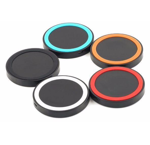 S6 Qi Wireless Charger Cell phone Mini Charge Pad For Qi-abled device Samsung nokia htc cellphone with retail package POST