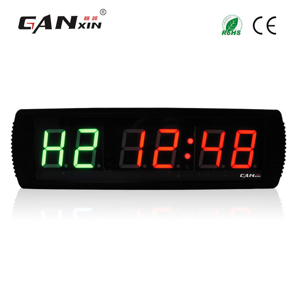 GANXIN New 3'' LED Fitness Timer Clock for Interval Workout MMA Tabata Box H.I.T Gym Timer