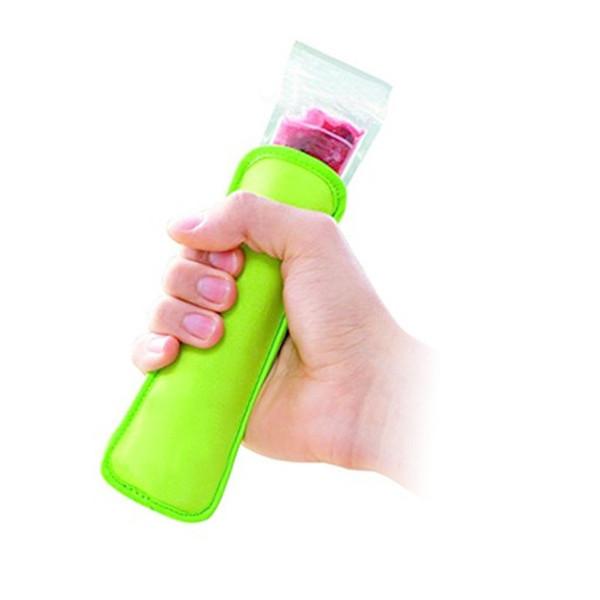 best selling 300pcs Popsicle Holders Pop Ice Sleeves Freezer Edge Covering 18cmX6cm Neoprene Waterproof for Kids Summer Kitchen Tools ZA0826