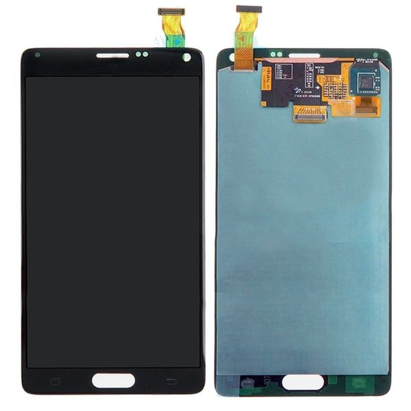 SBI LCD display Digitizer touch screen Assembly For Samsung Galaxy Note 4 SM-N910 B Grade Low Qaulity