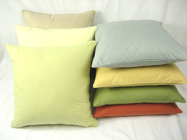 SF EXPRESS 100% Pull Plush Cotton Solid Pillow Case Office Waist Sofa Cushion Cover 20 colors Soft Cozy Solid Pillow Case