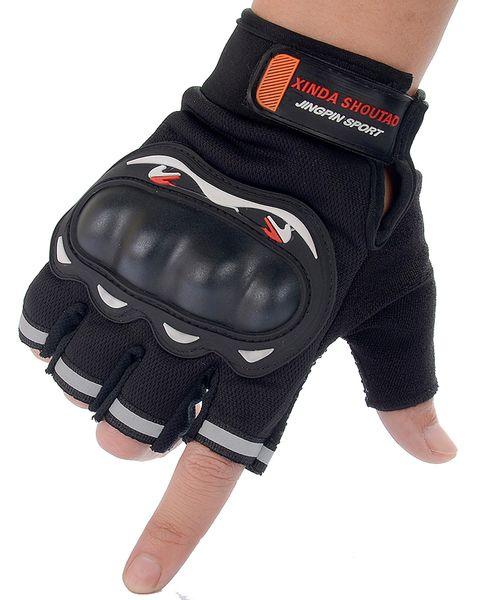 Luvas de ciclismo masculino feminino com tartaruga de tartaruga Half Finger Luvas de esportes ao ar livre Acessórios de moda para luvas de combate de escalada