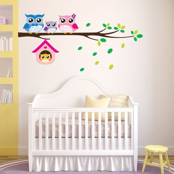Carton Wall Stickers for Kids Boys Girls Rooms Decorative Wall Decals Carton Home Decoration Removable Wallpaper Product Code:90-3023
