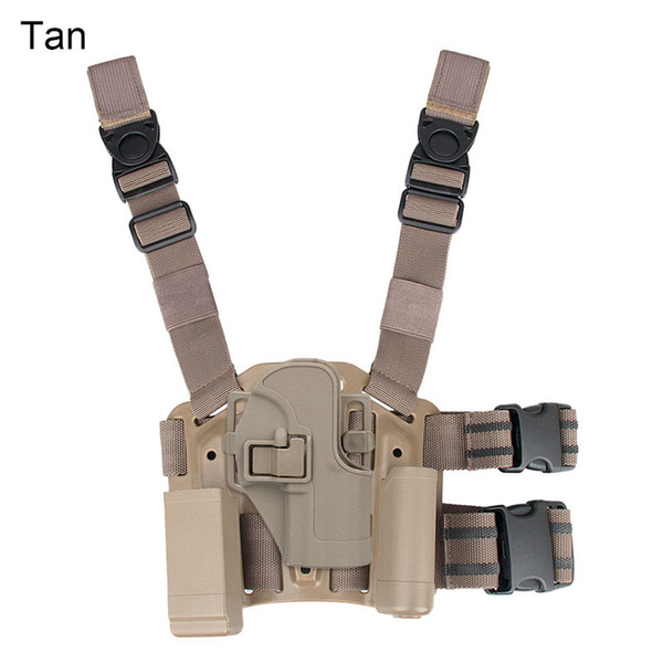 New Arrival Tactical USP Holster Pistol Thigh Holster of Polymer Leg Holster with Platform Free Shipping CL7-0001
