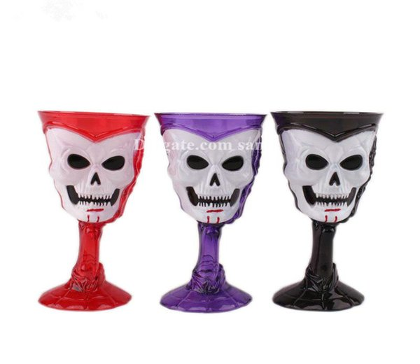 New Halloween originality Luminous flash Plastic cup spider clever lovely LED
