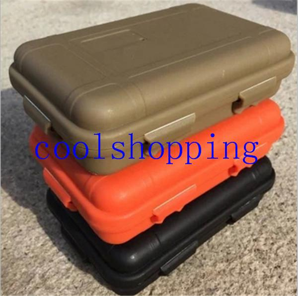 Large Size Outdoor Shockproof Waterproof Box Survival Case Containers For Storage Travel Kit EDC Tool Sealed Boxes