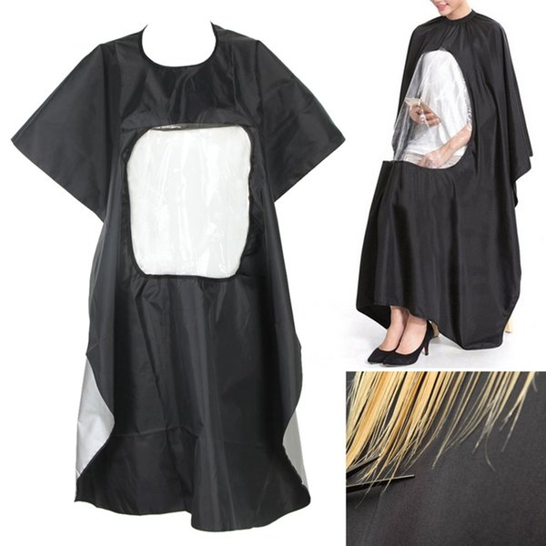 Professional Adult Salon Hair Cut Wrap Hairdressing Barbers Hairdresser Cape Gown Waterproof Cloth