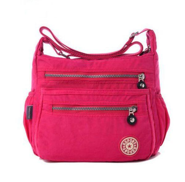 2016 new Korean fashion women shoulder bag Waterproof nylon bag Shoulder Messenger Multilayer bags women bags