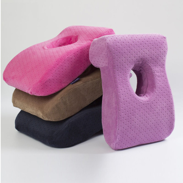 Multifunctional Travel Memory pillow Office Nap Pillow L shape Slow Rebound Memory Foam Pillow for Desk Sleeping