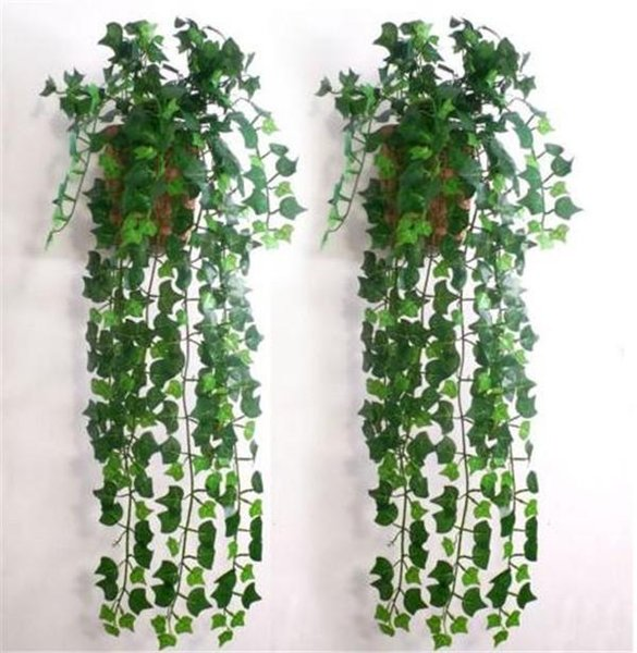 Wholesale- (mix order)7.5feet Artificial Ivy Leaf Garland Plants Vine Fake Foliage Flowers Home decor JE083