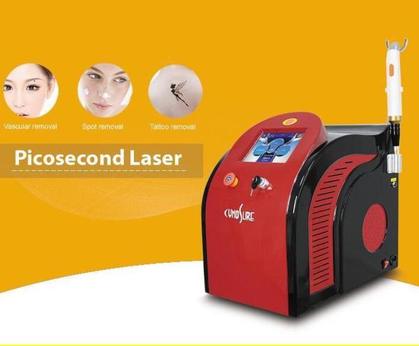 2018 Le plus récent !! Laser Picosure pour le retrait de tatouage Q commutateur Pico Laser 1064nm 532nm 755nm Picosecond Détatouage Laser Pico