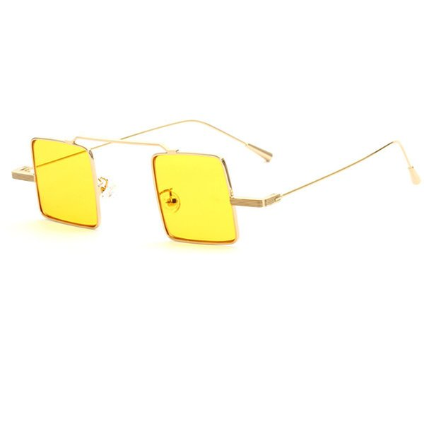 C4 Gold Frame Yellow Lens