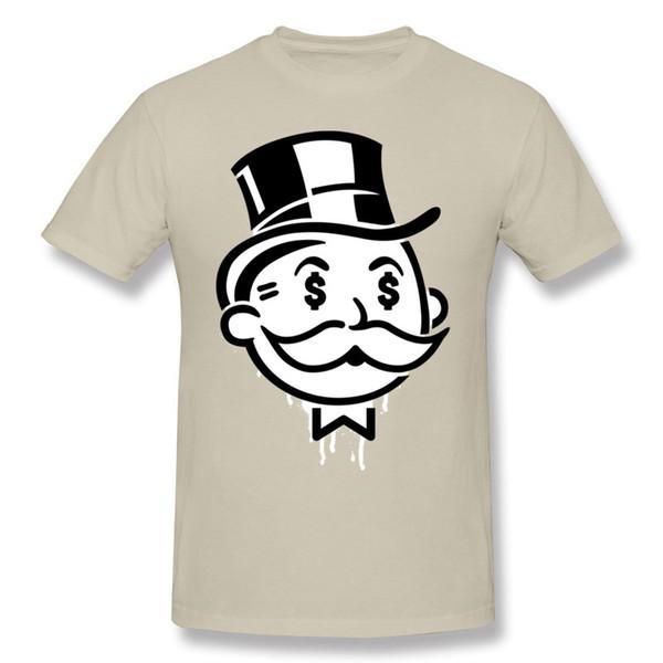 Neue kommende Männer Baumwollobersommer-Hip-Hop-Art-Art ein anderer Tag ein Dollar-kleiner runder Kragen-Kurzarm-Druck-T-Shirt bunt