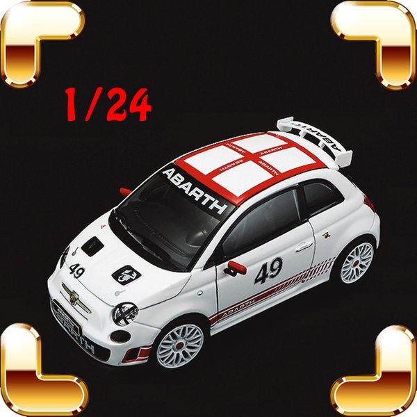 New Arrival Gift ABT 500 Modified Edition 1/24 Model Car Collection Diecast Alloy Decoration Toys Cars Fans Present Metal Real