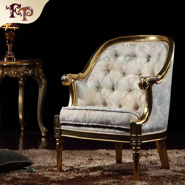 Italian classic furniture-classic living room furniture-royal furniture french style furniture manufacturer- round chair Free shipping