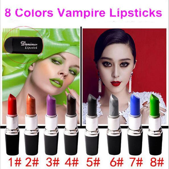 DHL! Makeup Luster Lipstick Vampire Color Waterproof Lip Sticks Top Quality Brands Frost Matte Lipstick Lips Make Up DHL Free Shipping