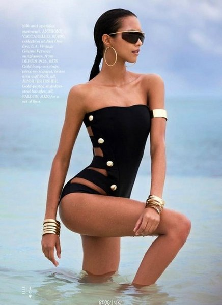 2016 high-end European and American swimsuit sexy swimwear S M L