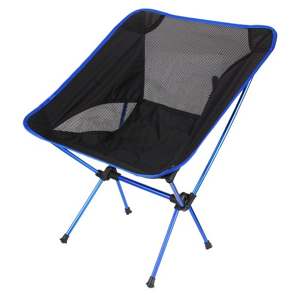 Super-light Breathable Backrest Folding Chair Portable Beach Sunbath Picnic Barbecue Camping Fishing Stool Load Bearing 150 kg