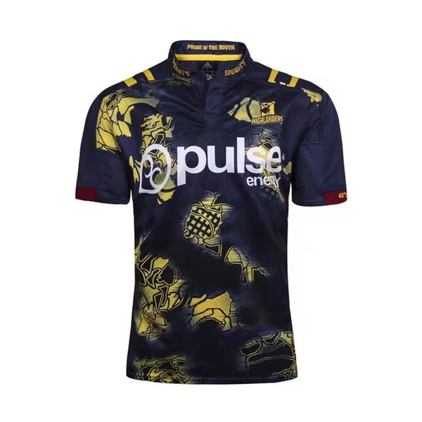 Neuseeland Blues Rugby Trikots Kreuzfahrer Chiefs Hurrikane Highlanders Training Rugby Trikots Maori Rugby-Shirts