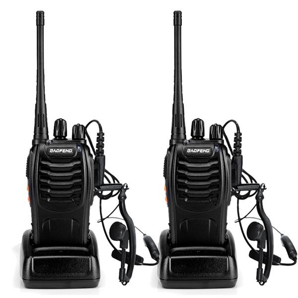 Großhandels-2pcs BaoFeng BF-888S Walkie Talkie UHF400-470MHZ Portable Schinken baofeng 888s CB Radio