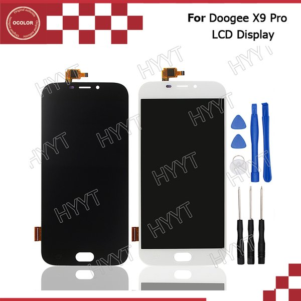 Wholesale- Doogee X9 Pro LCD Display and Touch Screen Assembly Repair Part 5.5 inch Mobile Accessories For Doogee X9 Pro +Tools