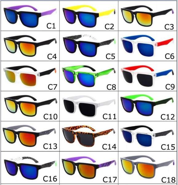 top popular 2016 Brand Designer Spied Ken Block Helm Sunglasses Fashion Sports Sunglasses Oculos De Sol Sun Glasses Eyeswearr 21 Colors Unisex Glasses 2019