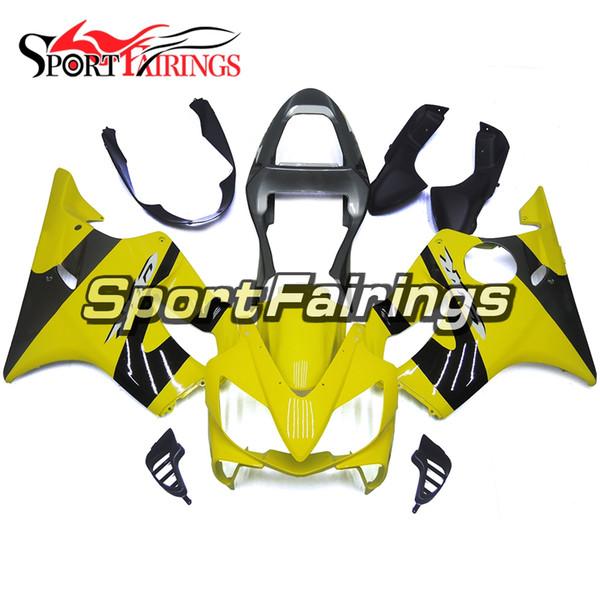 Full Motorcycle Plastics ABS Injection Fairing Kits For Honda CBR600 F4i 2001 2002 2003 Year 01 02 03 Fairings Black Primrose Yellow Cowling