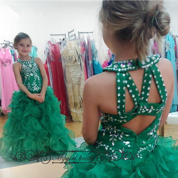 Pageant Ball Gowns For Girls Sparkly Beads Infant Ritzee Pageant ...