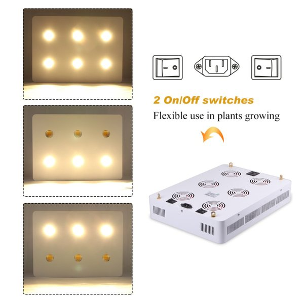 High Power Led Grow Light For Greenhouse And Plant Growing Lighting  Hydroponics Growth Used 1200w