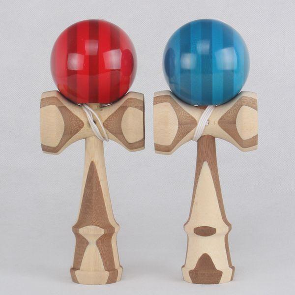 Bonne qualité 2 modèles Skill Toy balle bambou kendama jongler jeu balle jade épée balle pour jouet traditionnel japonais adulte
