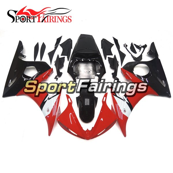 Fairings For Yamaha YZF600 R6 YZF-R6 Year 2003 - 2005 03 04 05 Sportbike ABS Motorcycle Fairing Kit Bodywork Cowling White Red Black