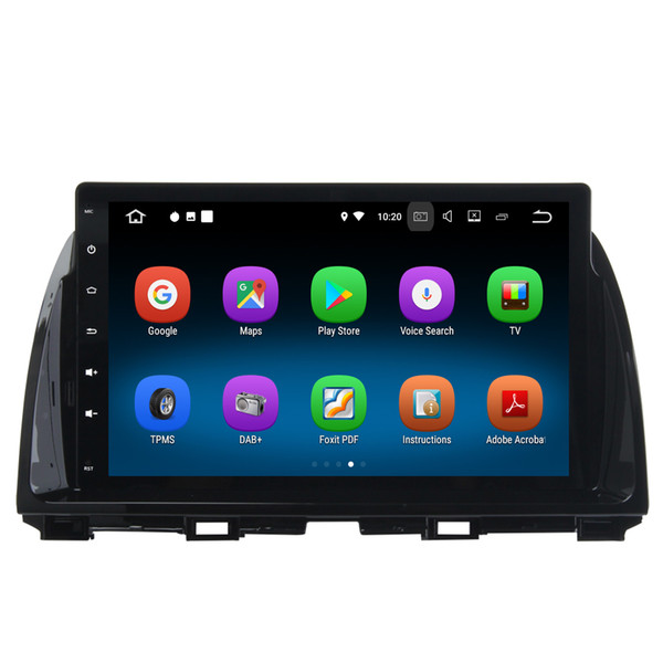 "10.2"" Touch Screen Quad Core Android 7.1 Car DVD Receiver For Mazda CX-5 GPS Navi Radio RDS BT WIFI 4G HDMI Mirror Screen 2G+16G RAM"