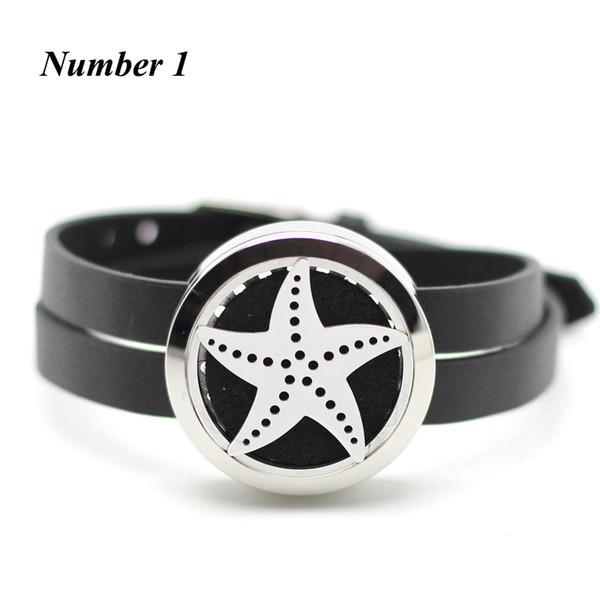 Neuankömmling! 30mm Silber Twist Parfüm Medaillon Armband 316l Edelstahl ätherisches Öl Diffusor Armband mit Lederband
