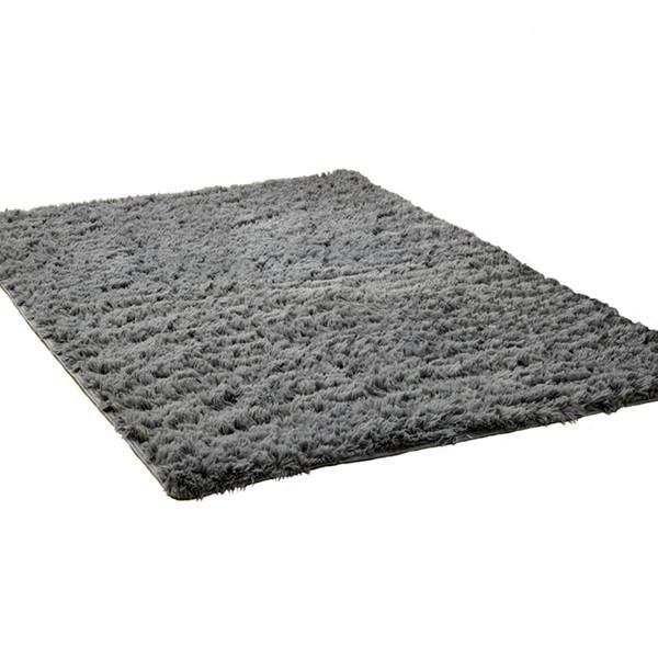 Tapete de pelúcia Tapete Fofo Antiderrapante para Sala de estar Quarto Tapete Confortável Macio Tapete Colorido para Casa