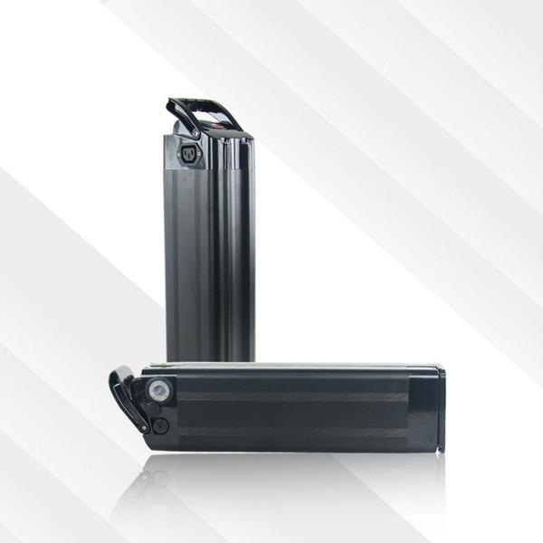 US EU No Tax Top discharge Silver Fish battery 36V 12Ah Electric Bike battery with Aluminum case 36V 500W eBike li-ion battery