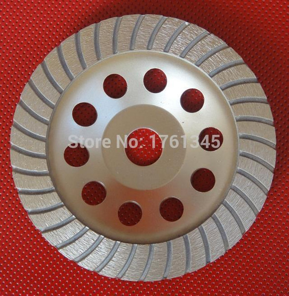 "High quality 7"" diamond grinding 180mm cup wheels grinding discs tools for concrete,marble,granite"