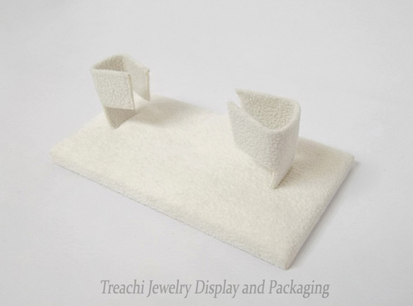 Jewelry Display Props, Beige Suede Bracelet Holder, Square Bangle Stand ,Latest Style