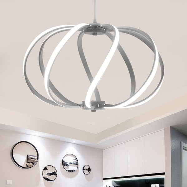 Modern led chandeliers lamp white acrylic chandelier light lighting modern led chandeliers lamp white acrylic chandelier light lighting luminaire lustre for living dinning room fashion mozeypictures Image collections