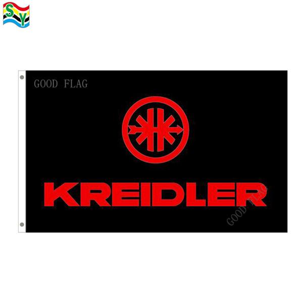 GoodFlag Free Shipping kreidler flag artwork flags banner 3X5 FT 90*150CM Polyster Outdoor Flag