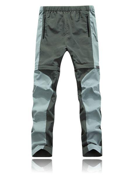 Wholesale-2016 New Men's Summer Outdoor Hiking Quick Dry Pants Men Waterproof Pants For Camping Rock Climbing Fishing Cycling