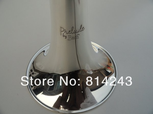 Customized Type Trumpet Bb Small Bach C180SML239 Silvering Trumpet Professional Musical Instruments With Case Gloves