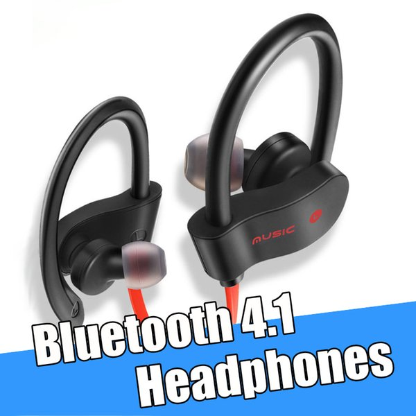 76f526dfefa Bluetooth 4.1 Headphones Wireless Sports Running Jogging Headset Stereo  Noise Cancel In Ear Earbuds with Mic