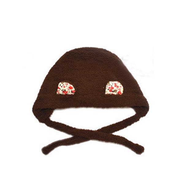 Toddler Baby Cashmere Hat Cap Winter Beanie Hat Cute Ears Plush Warm Hats  3-12Y aa94c38af14