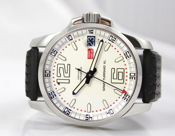 Новый Горячий Продавать Miglia XL Белый Циферблат Мужчины Автоматы Часы Из Нержавеющей Стали Мужские Спортивные Наручные Часы Резинкой