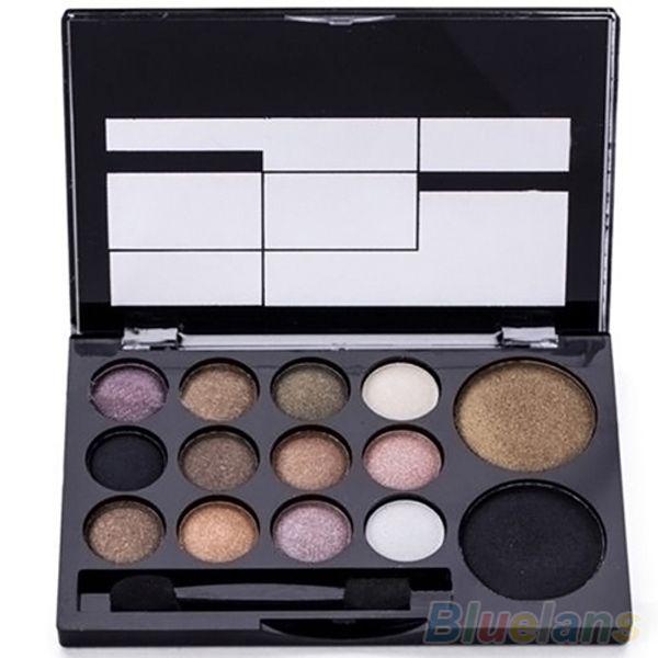 Wholesale- 2016 14 Colors Makeup Shimmer Eyeshadow Palette Cosmetic Neutral Nude Warm Eye Shadow 6ZI6 7GRU 8LSH