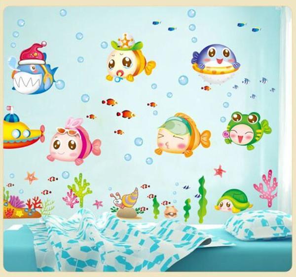 Meerjungfrau Aufkleber Bad Wasserdichte Wandaufkleber Kinder Schlafzimmer Wohnzimmer Dekoration Kann Entfernen Warme An Glas Fliesen Ma