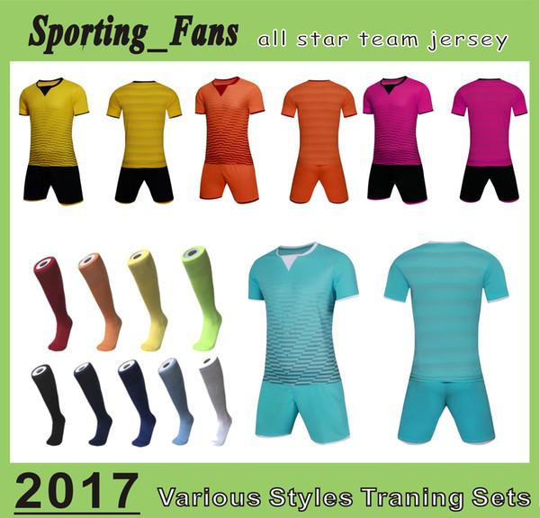 Grosshandel Hochwertige Fussballtrainingstrikots Fussball Sets Fussballuniformen Basteln Sie Ihre Design Logos Tragen Sie Fussball Bekleidung Und