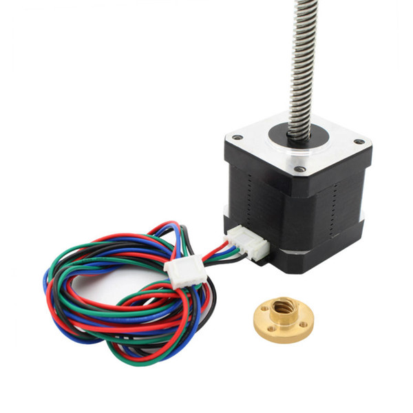 2019 \17 Lead Screw M8 300mm Z Axis 3D Printer KIT Step Motor For 3D  Printer From Huis, $70 95 | DHgate Com